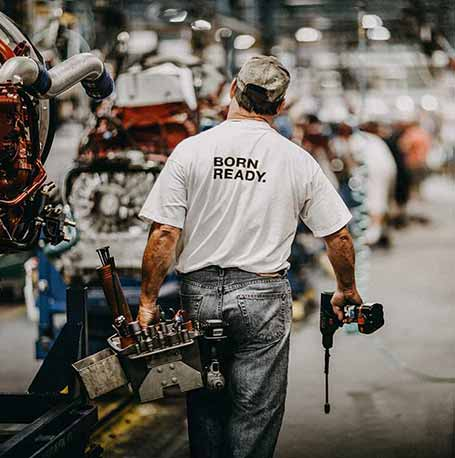 Mack Factory Employee at Macungie Plant